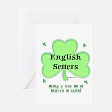 English Setter Heaven Greeting Cards (Pk of 10