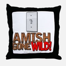 amishgonewild_nails Throw Pillow