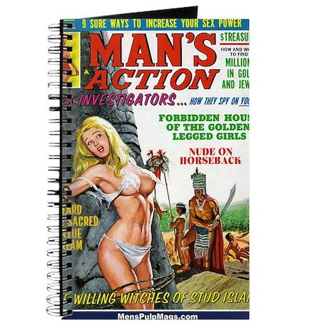 MANS ACTION, June 1969 - png Journal