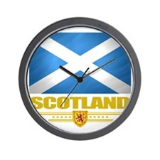 Scotland (Flag 10) Wall Clock
