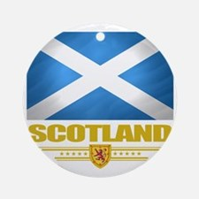 Scotland (Flag 10) Round Ornament