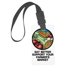 market Luggage Tag