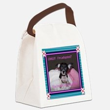 I am adopted Canvas Lunch Bag