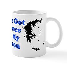 Greece On My Apron Mug