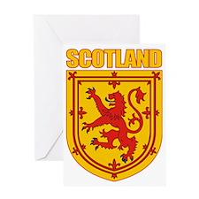 Scotland Lesser Arms Greeting Card