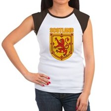 Scotland Lesser Arms Women's Cap Sleeve T-Shirt