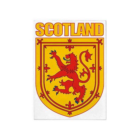 Scotland Lesser Arms 5'x7'Area Rug