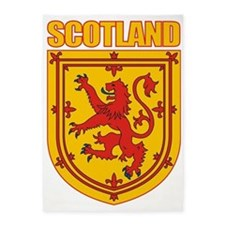 Scotland Lesser Arms 5'x7'Area Rug