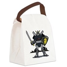black_knight Canvas Lunch Bag