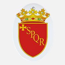 Rome (Flag 10) pocket Oval Ornament