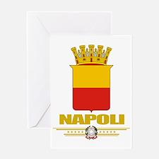 Napoli (Flag 10) Greeting Card