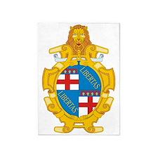 Bologna (Flag 10) pocket 5'x7'Area Rug