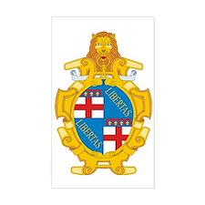 Bologna (Flag 10) pocket Decal