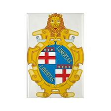 Bologna (Flag 10) pocket Rectangle Magnet