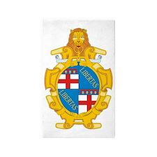 Bologna (Flag 10) pocket 3'x5' Area Rug