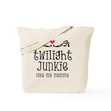 Junkie Mom Tote Bag