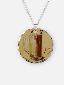 Root Beer Float BIG Necklace