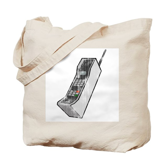 Worn 80 S Cellphone Tote Bag By Tshirtypoo