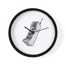 Worn 80's Cellphone Wall Clock