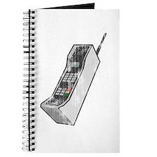 Worn 80's Cellphone Journal