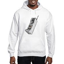 Worn 80's Cellphone Hoodie