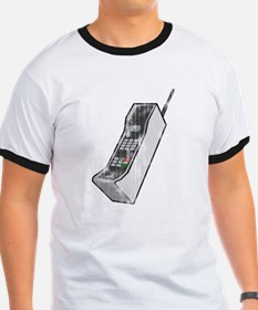 Worn 80's Cellphone T