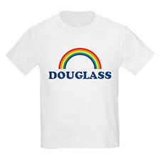 DOUGLASS (rainbow) Kids T-Shirt