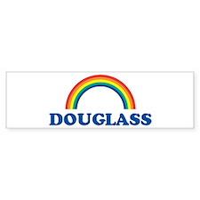 DOUGLASS (rainbow) Bumper Bumper Sticker