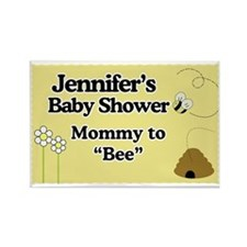 Mommy to Bee Yard sign Rectangle Magnet
