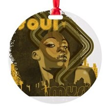 Soul Music - Olive Ornament
