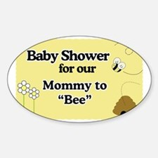 Mommy To Bee Baby Shower Yard Sign Decal