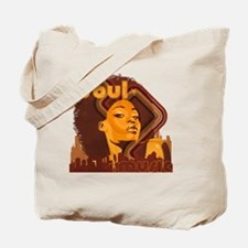 Soul Music - Orange Tote Bag
