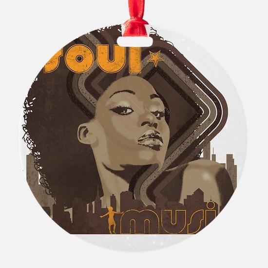 Soul Music - Cinder Ornament