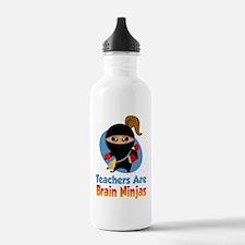 Teachers-Are-Brain-Nin Water Bottle