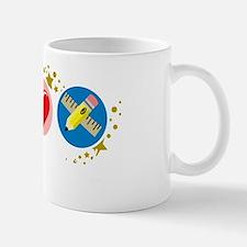 Peace-Love-Teach-blk Mug
