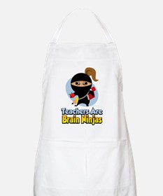 Teachers-Are-Brain-Ninjas Apron