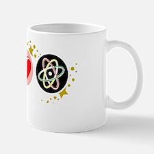 Peace-Love-Science-blk Mug