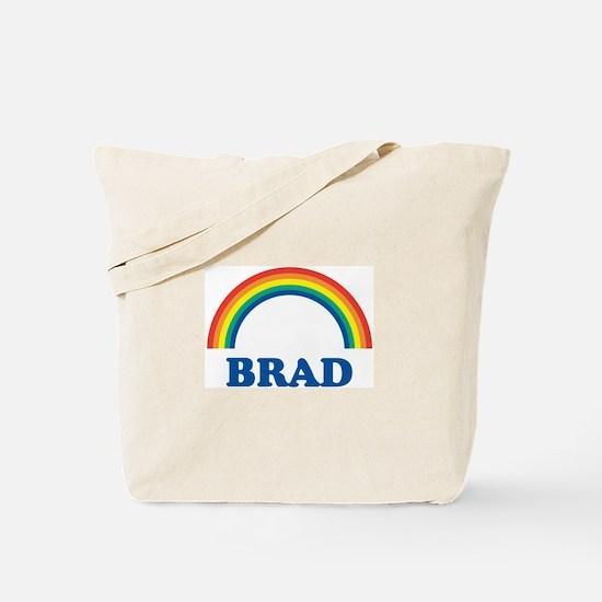 BRAD (rainbow) Tote Bag