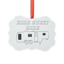 HomeSweetHomeFifthWheelReverse Ornament