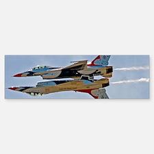 (4) Thunderbirds 5 and 6 Bumper Bumper Sticker