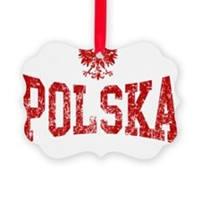 Polish Eagle Red Ornament