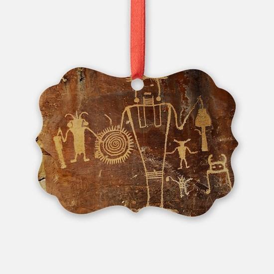 Fremont Rock Art 2x8pt31 Ornament