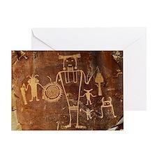 Fremont Rock Art 2x8pt31 Greeting Card