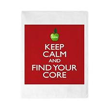 Pilates Find Your Core Twin Duvet
