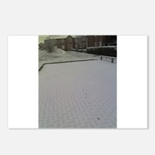 Snow in Tonbridge Postcards (Package of 8)
