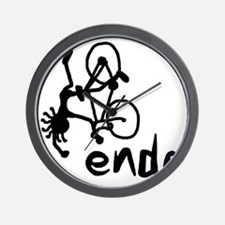 Endo_Stick_guy2 Wall Clock