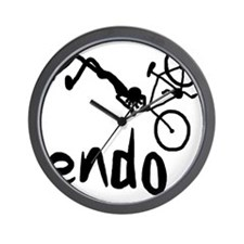 Endo_Stick_figure Wall Clock