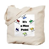 Moo point Totes & Shopping Bags