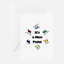 It's a Moo Point Greeting Cards (Pk of 10)