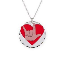 I love you with heart Necklace